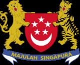 Герб города Сингапур