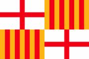 Флаг города Барселона