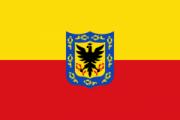 Флаг города Богота
