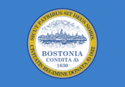 Флаг города Бостон