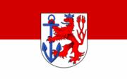 Флаг города Дюссельдорф