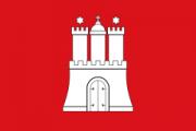 Флаг города Гамбург