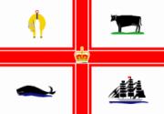 Флаг города Мельбурн