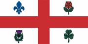 Флаг города Монреаль