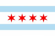 Флаг города Чикаго