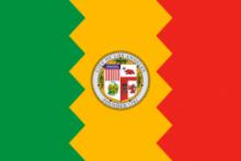 Флаг города Лос-Анджелес
