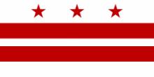 Флаг города Вашингтон (округ Колумбия)