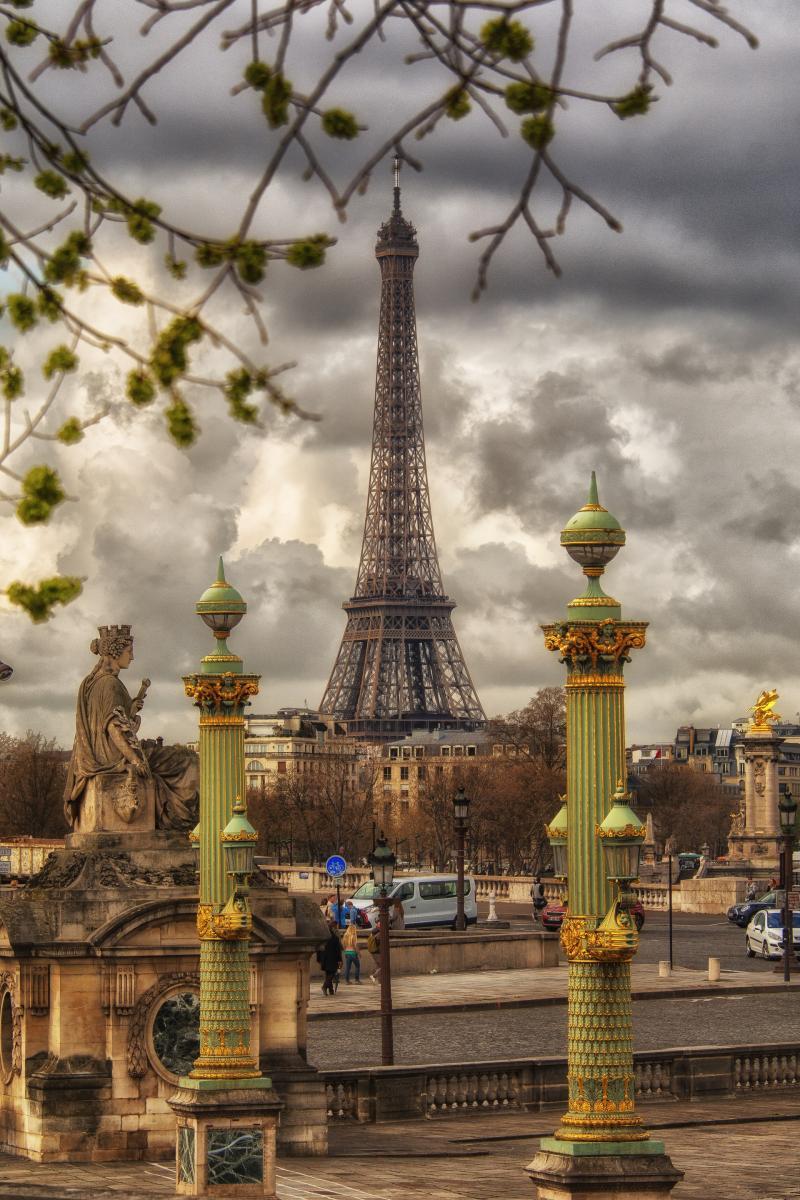 Фото город Париж, Франция (213686014)