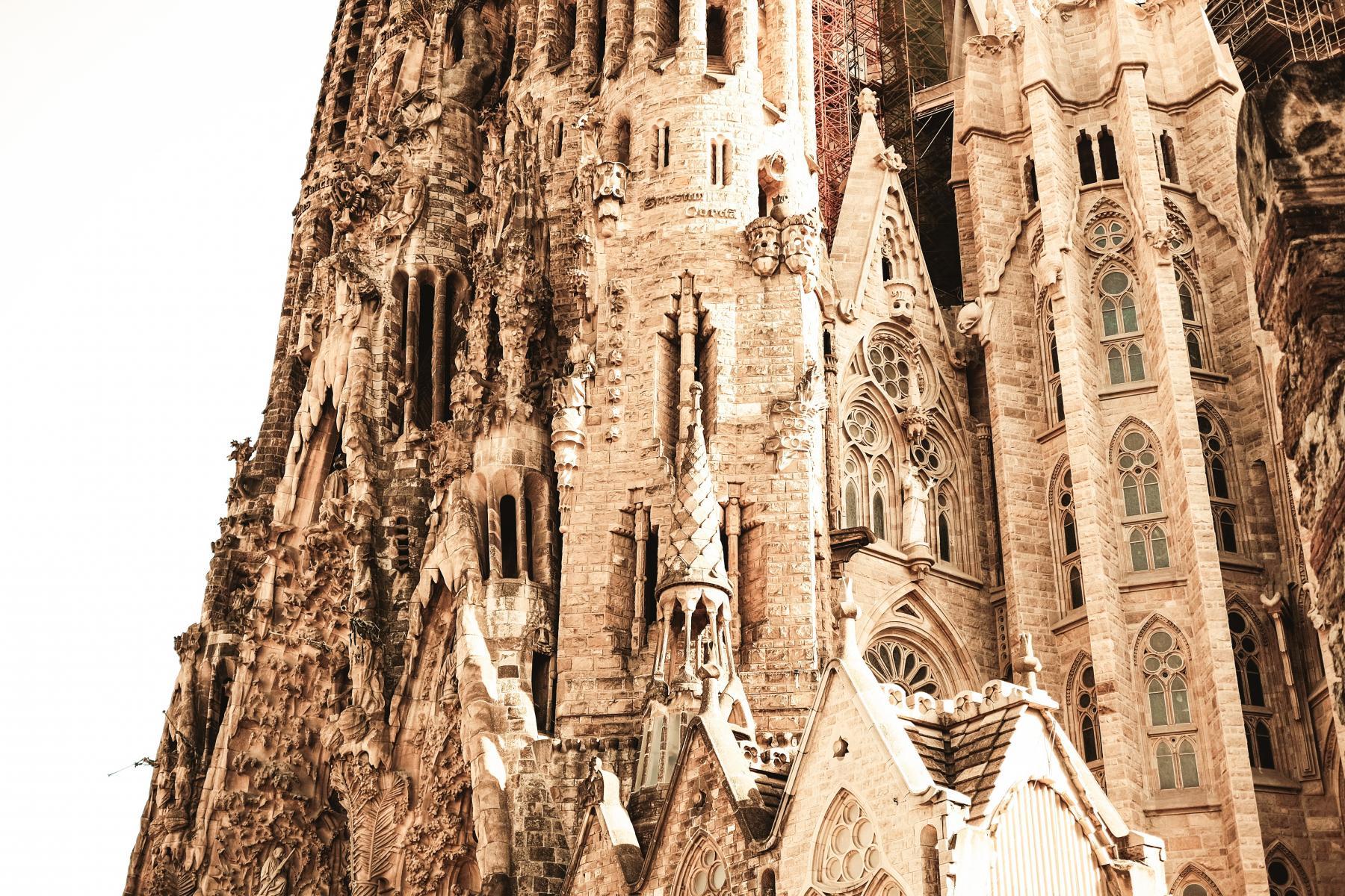 Фото город Барселона, Испания (671840718)