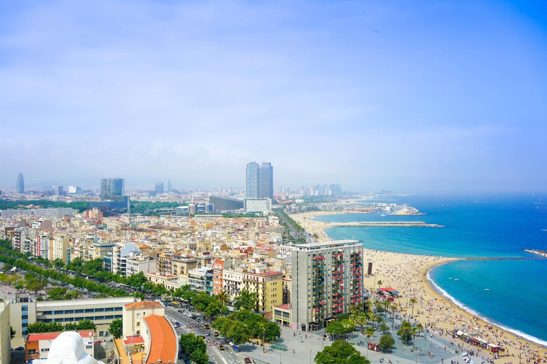 Фото город Барселона, Испания (130943980)