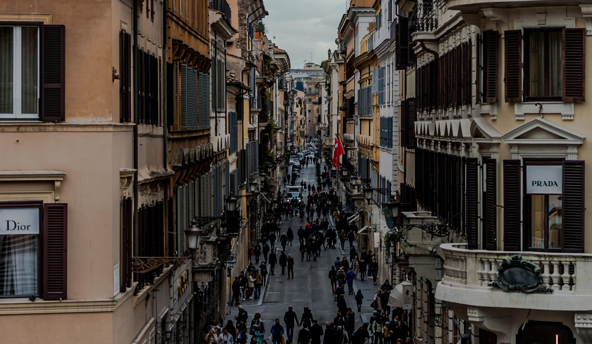 Фото город Рим, Италия (592069636)