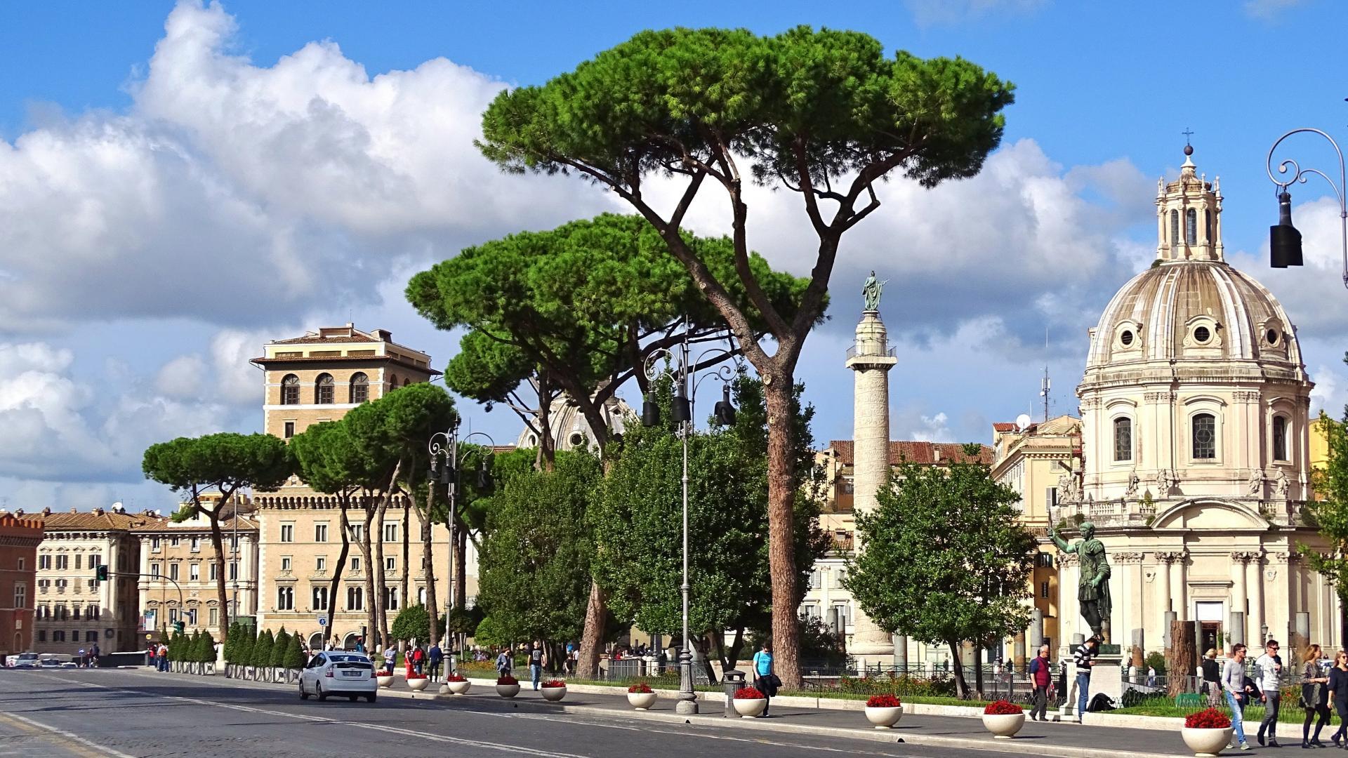Фото город Рим, Италия (1657599559)