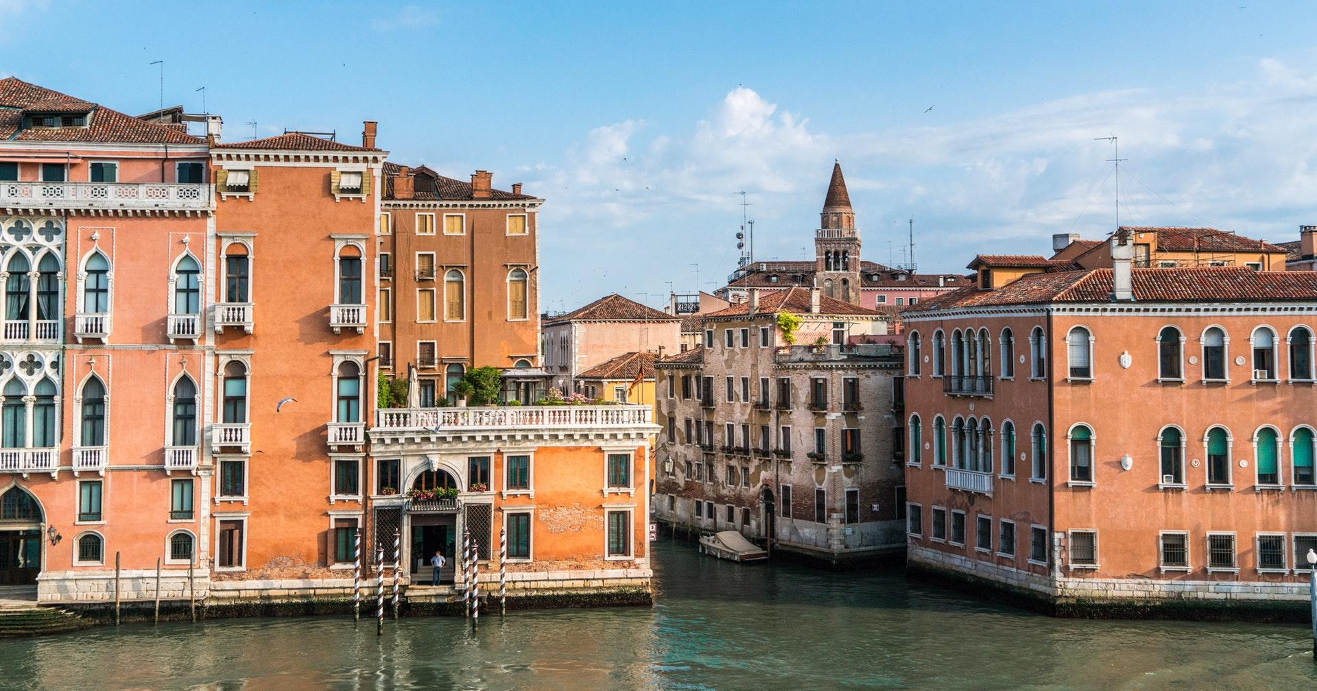 Фото город Венеция, Италия (1062888026)