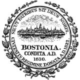 Герб города Бостон