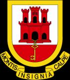 Герб города Гибралтар