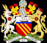 Герб города Манчестер