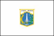 Флаг города Джакарта