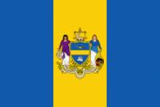 Флаг города Филадельфия