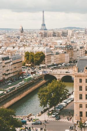 Фото город Париж, Франция (521710701)