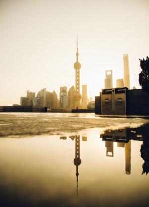 Фото город Шанхай, Китай (1815917670)