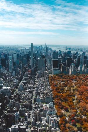 Фото город Нью-Йорк, США (1120258084)