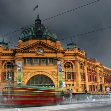 Фото город Мельбурн, Австралия (895710844)