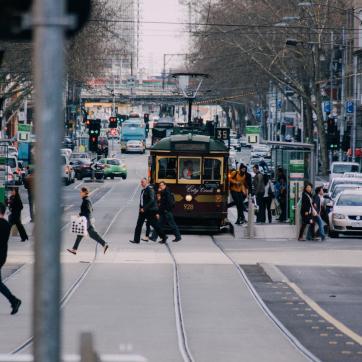 Фото город Мельбурн, Австралия (785709289)