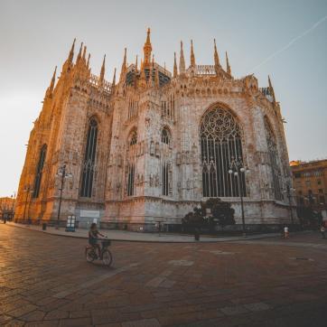 Фото город Милан, Италия (554901655)