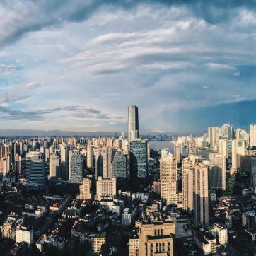 Фото город Шанхай, Китай (342481037)