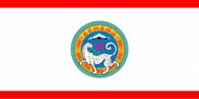 Флаг города Алма-Ата(Алматы)