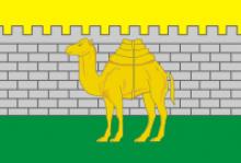 Флаг города Челябинск