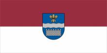 Флаг города Даугавпилс