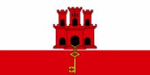 Флаг города Гибралтар