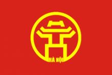 Флаг города Ханой