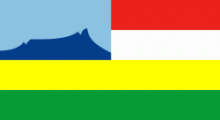 Флаг города Кота-Кинабалу