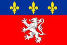 Флаг города Лион