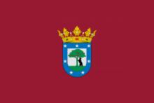 Флаг города Мадрид