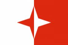 Флаг города Слима