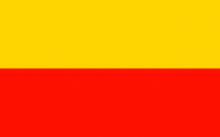 Флаг города Варшава