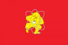 Флаг города Железногорск